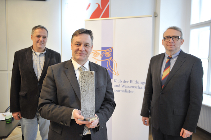 Wahlleiter Christian Müller, Wolfgang Neubauer, Oliver Lehmann /  / Foto: Roland Ferrigato